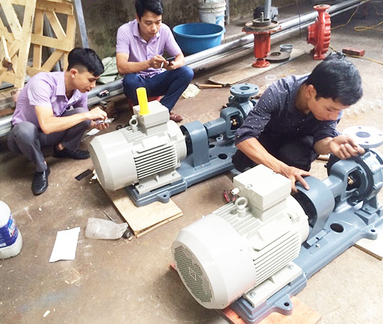Các hạng mục sửa chữa máy bơm tại Biên Hòa