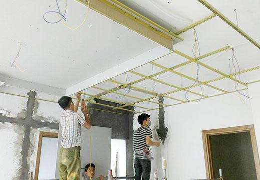 Các hạng mục thi công trần vách thạch cao Đồng Nai