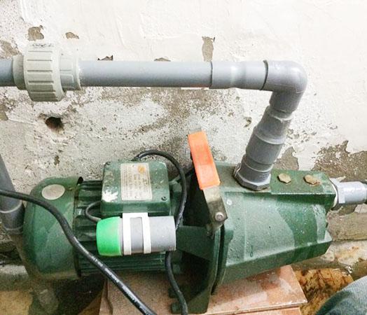 Hạng mục sửa chữa máy bơm tại Thủ Dầu Một