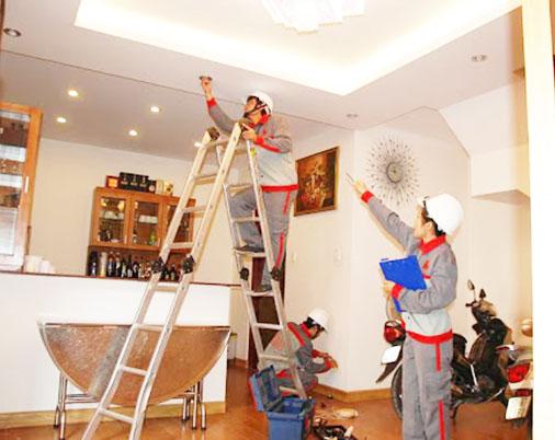 Quy trình sửa chữa nhà tại Đồng Nai