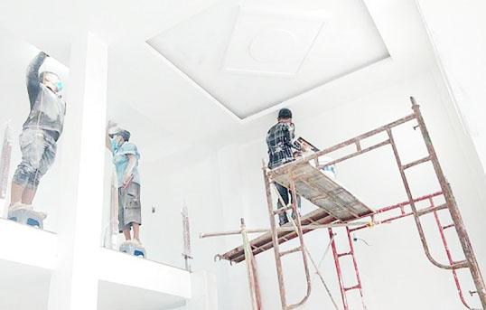 Thi công trần vách thạch cao tại Biên Hòa trang trí nội thất