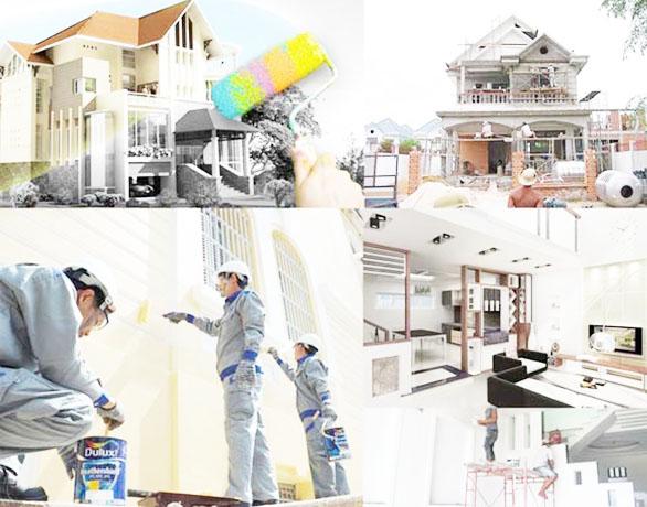 dịch vụ quét sơn nhà