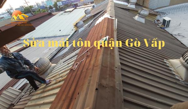 sửa mái tôn quận Gò Vấp