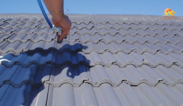 sơn chống nóng mái tôn hiệu quả